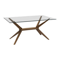 Inmod - Magna Glass Dining Table - Dining Tables