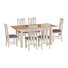 Portland Extending Dining Table and 6-Chair