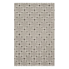 Dunes Hand-Tufted Rug, Taupe, 5'x8'