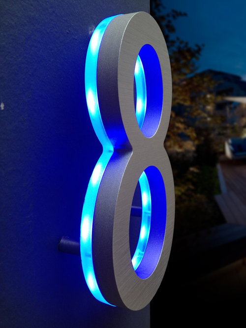 Luxello Led Lighted House Number Signs