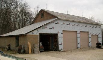 Restoration of century barn before demolation