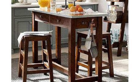 favorite affordable kitchen work table freestanding island. Black Bedroom Furniture Sets. Home Design Ideas