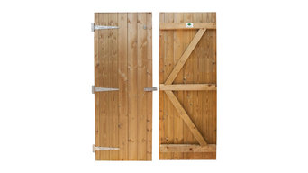 Apex Shed Doors
