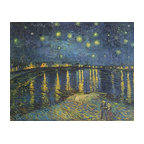Starry Night Painting Wall Mural, 36