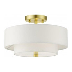 50 Brass Flush Mount Ceiling Lights That Are Worth The Houzz