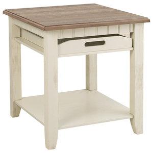 Marvelous Carynhurst Casual White Wash Gray Rectangular End Table Ibusinesslaw Wood Chair Design Ideas Ibusinesslaworg