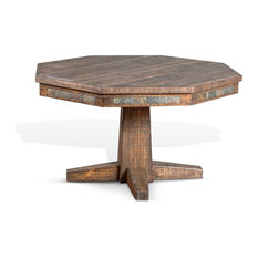 Tobacco Leaf Game & Dining Table