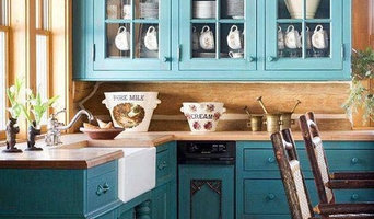 Renovated and Painted Cabinets