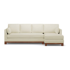 Avalon 2-Piece Sectional Sofa, Buckwheat, Chaise on Right