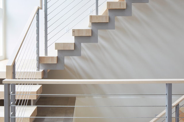 Contemporary Staircase by Giulietti Schouten Architects