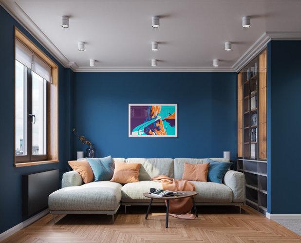 Современный by Анна Жемерева / ORT-interiors