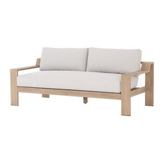 Monterey Natural Teak Outdoor 2 Seater Sofa 74""
