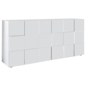 Diana 3-Door Sideboard, 181 cm, White Gloss