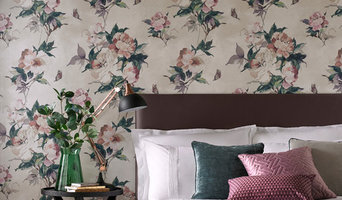 Madama Butterfly Ivory Wallpaper
