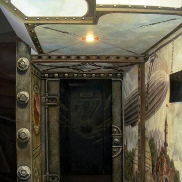 Роспись коридора