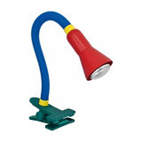 Colourful table lamp COLEUR with clamping foot