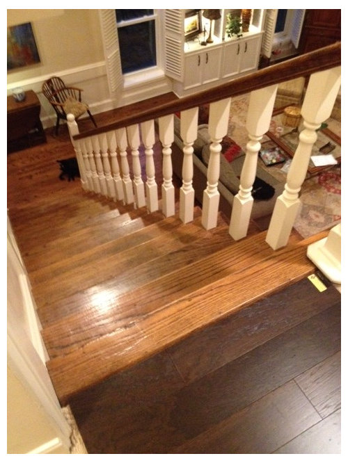 interior stair railing designs ideas and decors most.htm is it wrong to have different wooden flooring upstairs from  different wooden flooring upstairs
