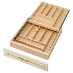 Transitional Kitchen Drawer Organizers by Rev-A-Shelf