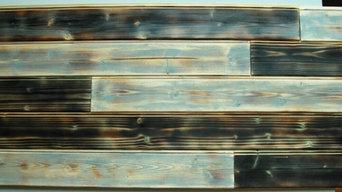 Wall decor cladding wood panels