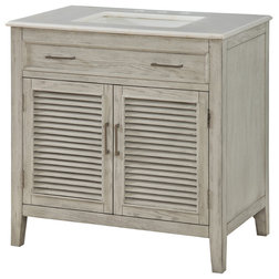 Farmhouse Bathroom Vanities And Sink Consoles by Coast to Coast Imports, LLC