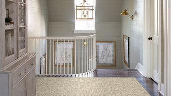 Textured custom carpet from Nourison