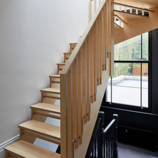 Photo of a scandi staircase in London.