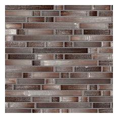 Akaya Copper Interlocking 8Mm, Misc, Glass, Mosaics