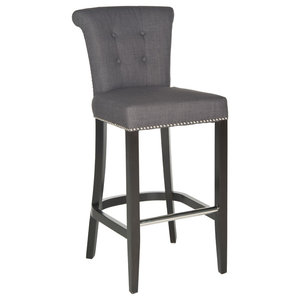 Addo Ring Barstool, Charcoal
