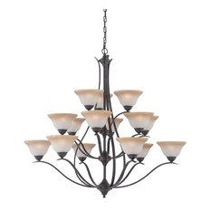 Thomas Lighting TK0023722 Prestige 15 Light 3 Tier Chandelier