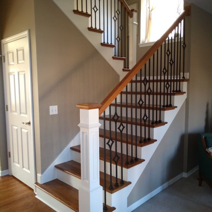 Designer custom diamond staircase