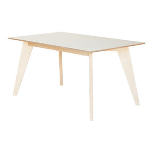 HUH Dinner Table, White, Small