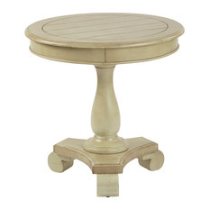 Marvelous Inspired By Bassett   Inspired By Bassett Avalon Round Accent Table,  Antique Celedon   Side