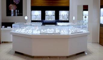 Мебель для ювелирного бутика