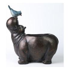 Hippo Flower Pot