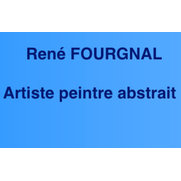 Photo de René FOURGNAL, artiste peintre abstrait