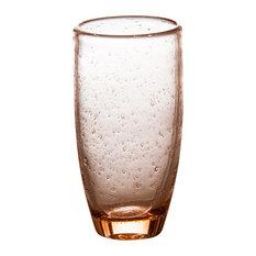 Tutti Frutti Bubble Tumblers, Set of 4, Light Pink