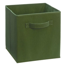 ClosetMaid   Closet Maid Fabric Drawer, Dark Green   Storage Bins And Boxes