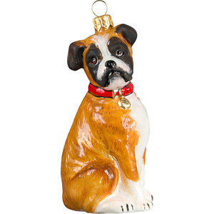 Boxer With Floppy Ears Ornament