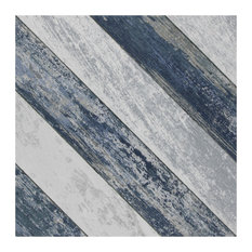 "9.75""X9.75"" Cassis Sete Porcelain Floor/Wall Tiles, Blue"