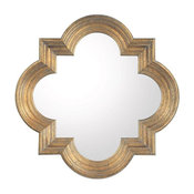 Capital Lighting Mirrors Antiqued Gold Mirror M282882 - Antique Gold