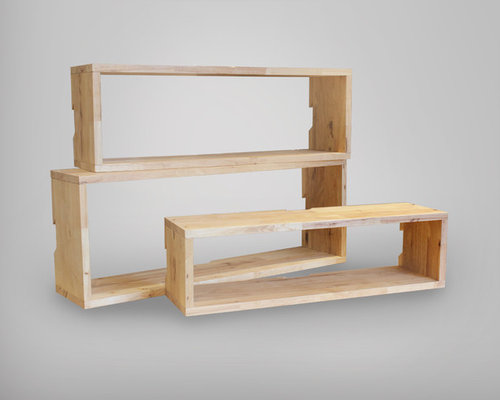 Aziz Box Series- 3 Rectangles - Display & Wall Shelves