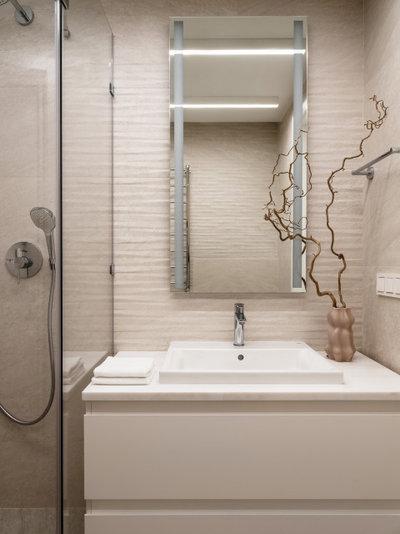 Современный Ванная комната by ANDdesign / Александра Дашкевич