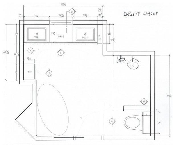 Floor Plan 100-Square-Foot Bathrooms