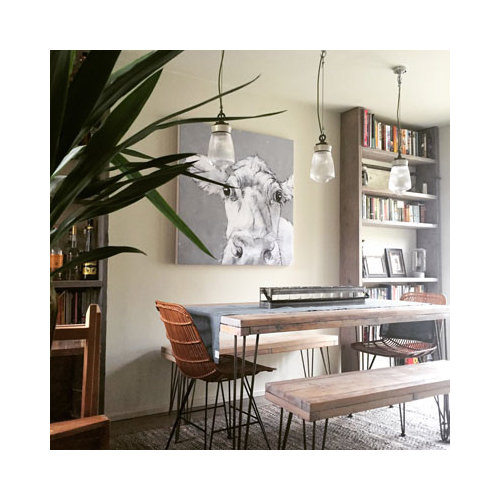 This Is An Example Of A Scandinavian Dining Room In Kent