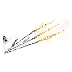 "Abba Patio Branch Lights 39"" LED Plug in Willow Twig Lights, Warm White"