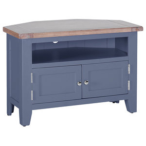 Corner TV Unit, Dark Grey