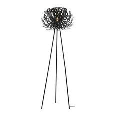"Alura 67"" Tripod Floor Lamp, Black"