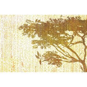 Wallpepper Leopard Tree Wallpaper Design, Yellow, Large