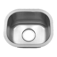 Premier Peanut, 18 Gauge Stainless Steel Small Single Bowl Sink