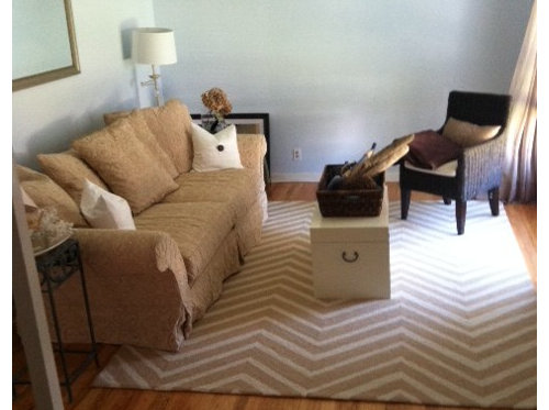 Help with Awkward Living Room Layout!